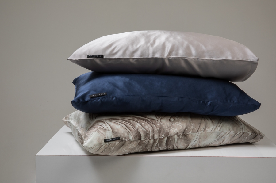 Hofsilk - 100% Silk Pillowcase Darkblue