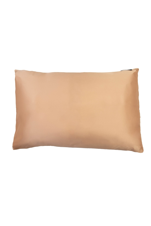 House of Silk - 100% Silk Pillowcase Honey Color