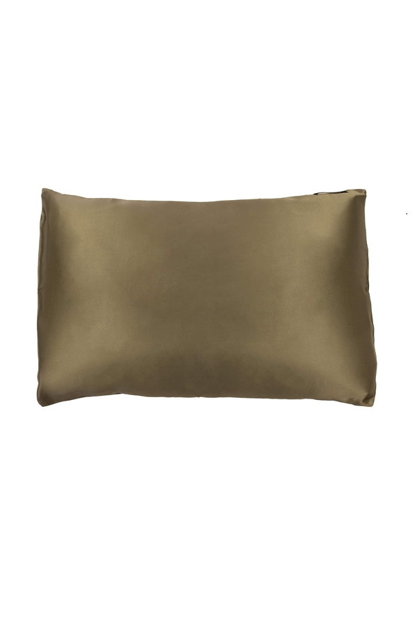 House of Silk - 100% Silk Pillowcase Pistachio Green