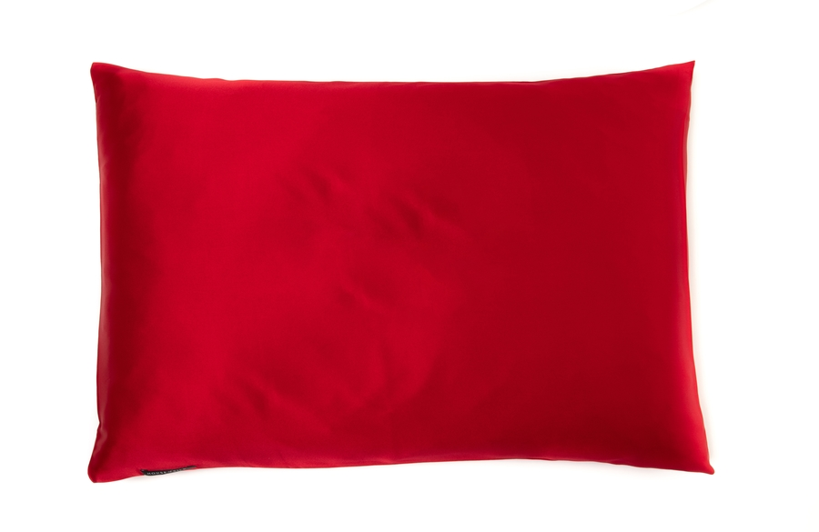 Hofsilk - 100% Silk Pillowcase Red
