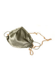 House of Silk - 3 pieces Silk Face Mask Set with Chain detail (1)