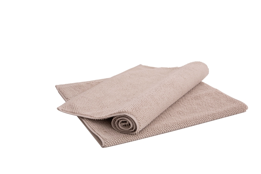 House of Silk Maison - Beige Bath Rug