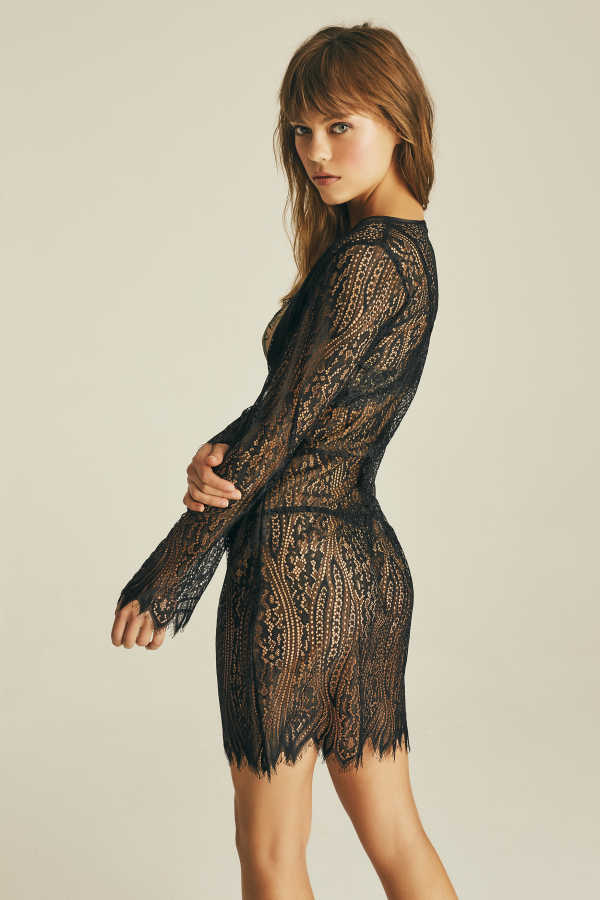 House of Silk - Brielle Lace Robe