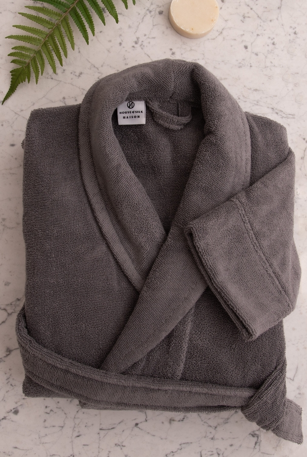 House of Silk Maison - Charcoal Robe