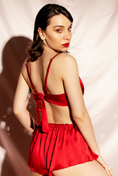 House of Silk - COCO Silk Camisole and Short Set