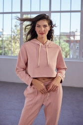 House of Silk - EDLYN Super Soft Hoodie Soft Pink (1)