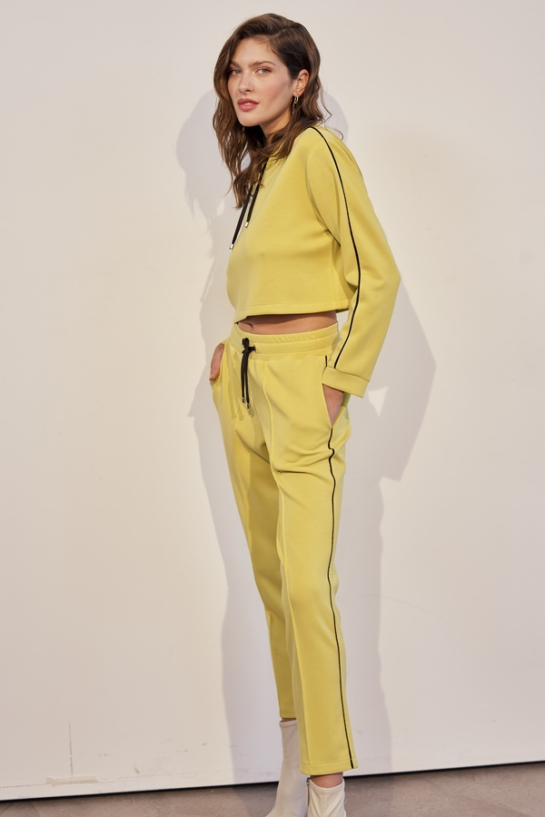 House of Silk - EDLYN Super Soft Track Pants Neon