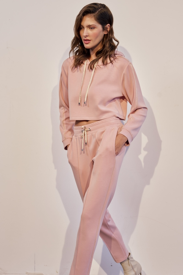 House of Silk - EDLYN Super Soft Track Pants Soft Pink (1)