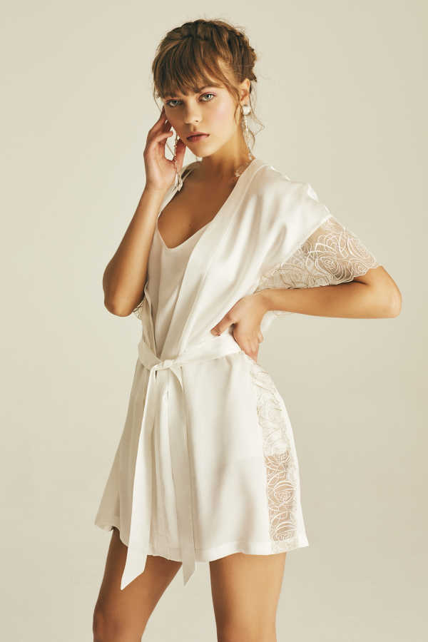 Hofsilk - ELURIA LACE Robe
