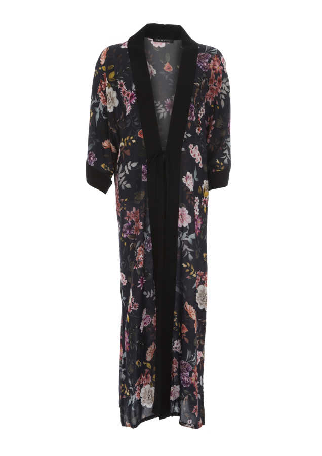 House of Silk - Gamila Floral Robe (1)