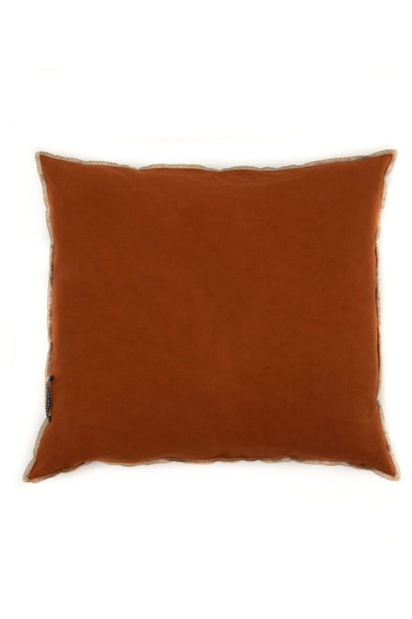 House of Silk Maison - Recycled Cotton Cushions Light Tile