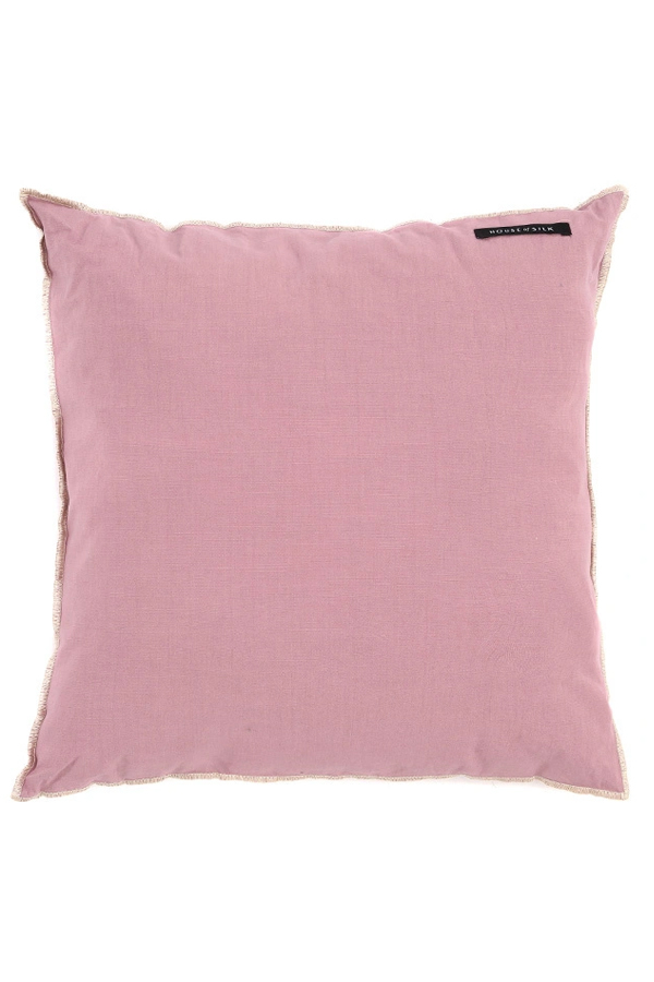 House of Silk Maison - Recycled Cotton Cushions Lilac