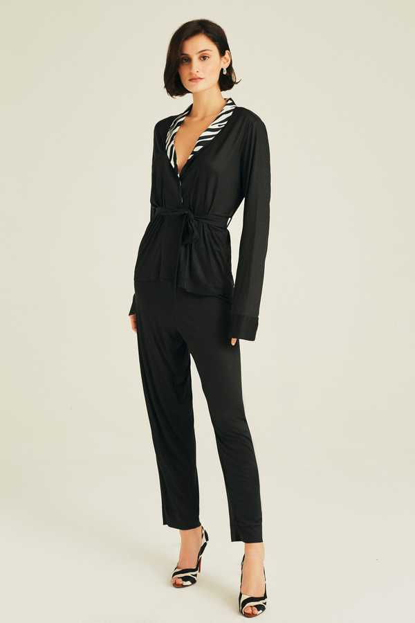 Hofsilk - Silk Collar Gracia Pyjama Suit