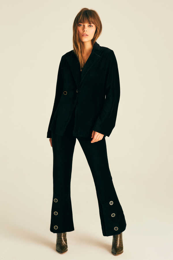 Hofsilk - Lined Velvet Pants