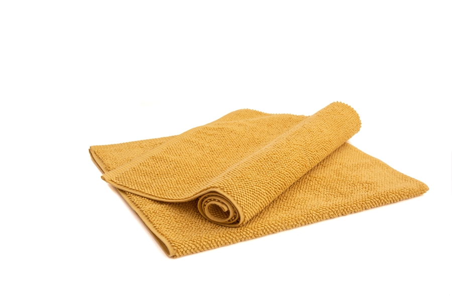 House of Silk Maison - Mustard Bath Rug