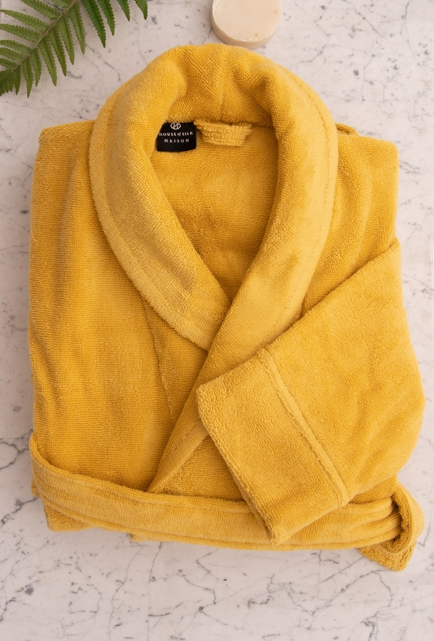 House of Silk Maison - Mustard Robe