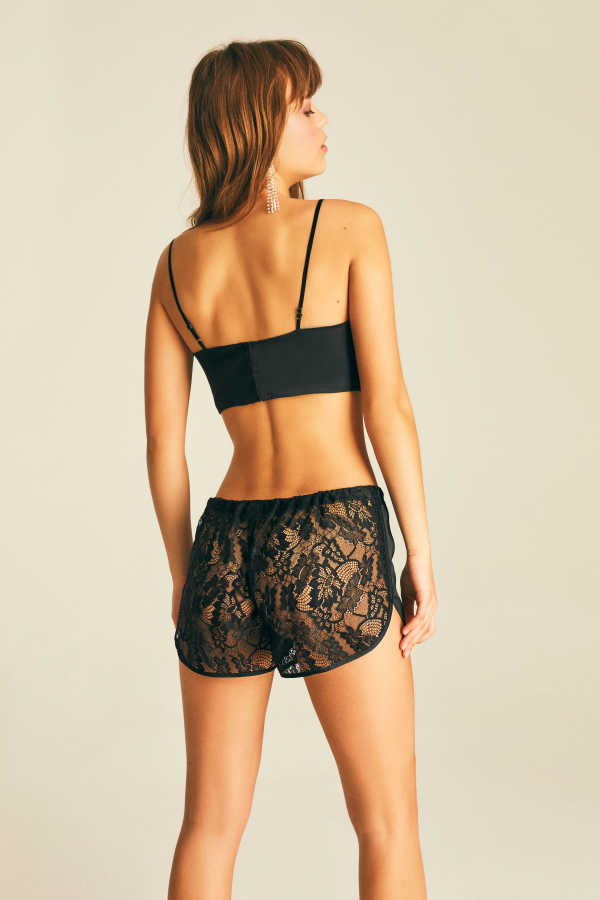 Silk Peek A Boo Short