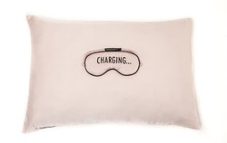 Silk CHARGING Sleeping Mask & Pillowcase Set - Thumbnail