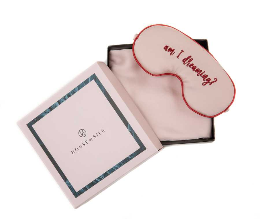 Hofsilk - Silk DREAMING? Sleeping Mask & Pillowcase Set