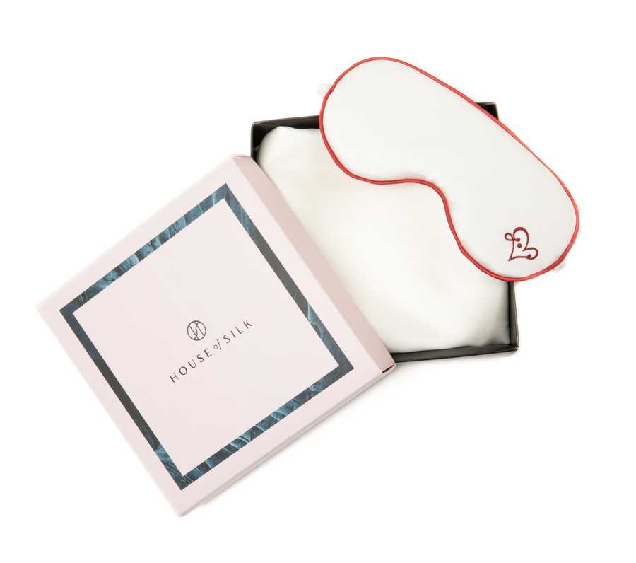 Hofsilk - Silk LOVE Sleeping Mask & Pillowcase Set