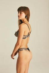 House of Silk - Spiral Lace Thong (1)
