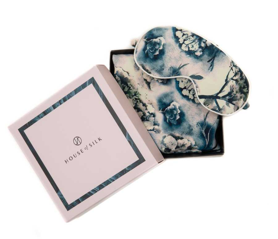 Hofsilk - Viscose Soft LILAC Sleeping Mask & Pillowcase Set