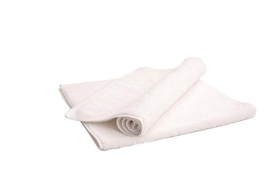 House of Silk Maison - White Bath Rug